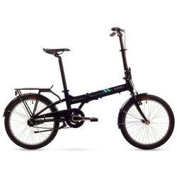 Romet rower składany WIGRY 3 czarny - Gwarancja terminu lub 50 zł! - Bezpłatny odbiór osobisty: Wrocław, Warszawa, Katowice, Kraków