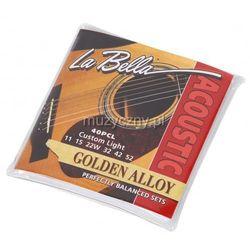 LaBella 40PCL Folk struny do gitary akustycznej 11-52