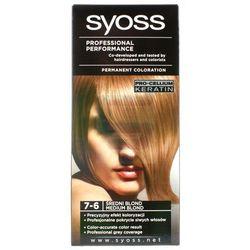 Syoss Farba do włosów 7-6 Średni Blond