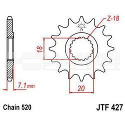 Zębatka przednia JT F427-13, 13Z, rozmiar 520 2201620 Suzuki RM 125