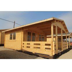 Domek drewniany na działkę Szwecja