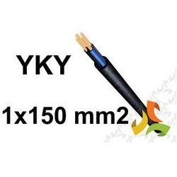 Kabel YKYżo 1x150 RMC 1kV PRZEWÓD ZIEMNY MIEDZIANY