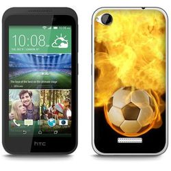 Fantastic Case - HTC Desire 320 - etui - fireball