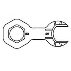 Tres klucz oczkowy do montażu głowic ceramicznych (do 30333 ) 9134890