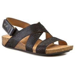 Sandały CLARKS - Perri Dunes 261058884 Black Snake