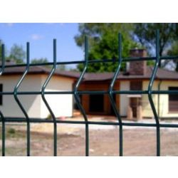 Panel ogrodzeniowy zielony 3D 4mm