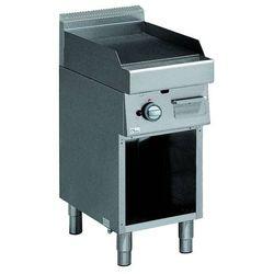 Płyta grillowa gazowa, gładki - 395x550 mm