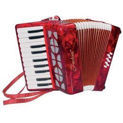 Mini akordeon zabawkowy M-2000-RD