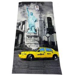 NEW YORK TAXI STATUA RĘCZNIK 75X150