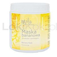 Maska bananowa nawilżająca 1000 ml Mila