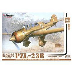 Samolot bombowy Bomber PZL-23B Kampania 1939