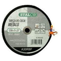TARCZA DO CIĘCIA METALU PŁASKA 125x1, 5x22MM FIRMA STALCO (S-59225)