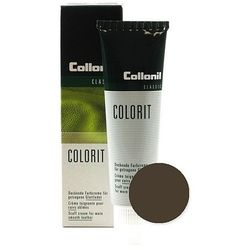 Ciemnobrązowa pasta renowator do skóry licowej Colorit Collonil ciemny brąz