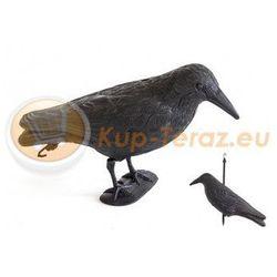 Odstraszacz ptaków kruk plastikowy