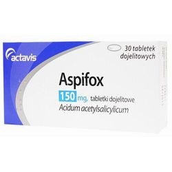 ASPIFOX 150mg x 60 tabletek