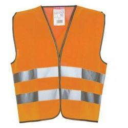 LAHTI PRO Kamizelka ostrzegawcza pomarańczowa rozmiary M-XXXL (ZNALAZŁEŚ TANIEJ - NEGOCJUJ CENĘ !!!)