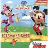 Klub Przyjaciół Myszki Miki Zabawy na łące (opr. kartonowa)