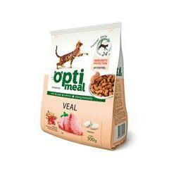 OPTI MEAL Cat Veal 4,3kg z cielęciną (wiaderko)