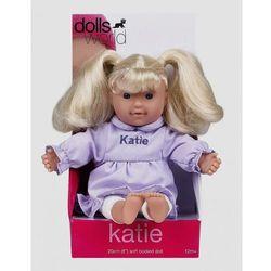 Lalka bobas Katie 20 cm fioletowa