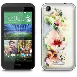 Fantastic Case - HTC Desire 320 - etui - kwiaty