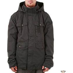 kurtka męskie zimowy -z materiału- FUNSTORM - Manire - 20 D GREY