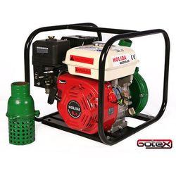 Motopompa spalinowa ciśnieniowa stalowa mocna Holida QGZ65-55 5 BAR