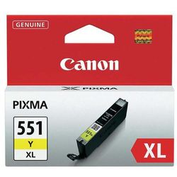 Canon oryginalny ink CLI551Y XL, yellow, 11ml, 6446B001, high capacity, Canon PIXMA iP7250, MG5450, MG6350, MG7550