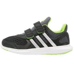 adidas Performance HYPERFAST 2.0 Obuwie do biegania treningowe core black/metallic silver/semi solar green