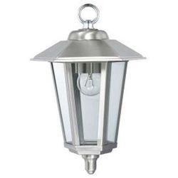 Zewnętrzna LAMPA wisząca HL242 01151 Ideus metalowa OPRAWA ogrodowa zwis IP44 latarnia outdoor satyna