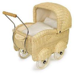 Wózek wiklinowy dla lalek Luiza