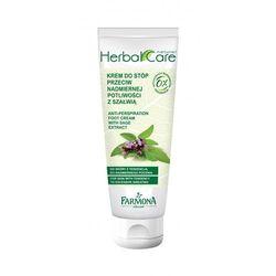 Farmona Herbal Care Krem przeciw nadmiernej potliwości stóp - szałwia 100ml