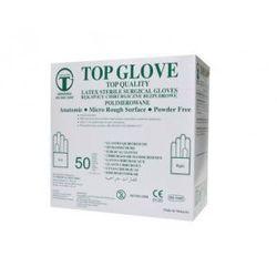 Rękawice chirurgiczne lateksowe bezpudrowe jałowe /op. 50 par/