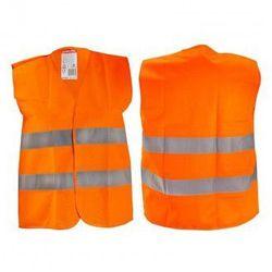 LAHTI PRO Kamizelka ostrzegawcza pomarańczowa dla dzieci 4-6 lat S L4130201 (ZNALAZŁEŚ TANIEJ - NEGOCJUJ CENĘ !!!)