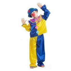 Strój Klaun żółty - przebrania / kostiumy dla dzieci, odgrywanie ról - 140 cm