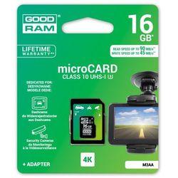 karta pamięci GOODRAM microSDHC 16GB M3AA class 10 UHS-I U3 MLC 45/90MB/s