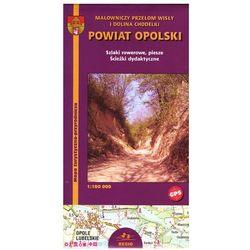 Powiat Opolski mapa 1:100 000 Kartpol (opr. miękka)