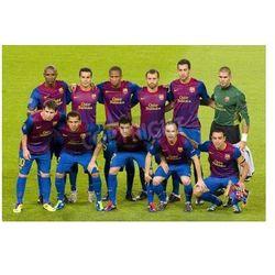 Fototapeta BARCELONA - 13 września: gracze Barcelona na meczu Ligi Mistrzów pomiędzy FC Barcelona i AC Milan, 2 - 2, w dniu