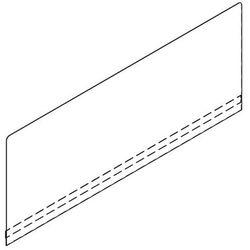 Nasadzana ścianka tylna ze stali szlachetnej Z-BS313-314RW