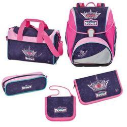 SCOUT Alpha Plecak z akcesoriami szkolnymi - Blue Princess