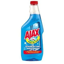 Płyn do mycia szyb AJAX zapas niebieski 500ml