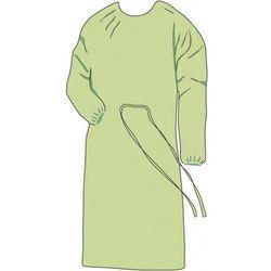 FARTUCH HIGIENICZNY z włókniny zielony 10szt XL