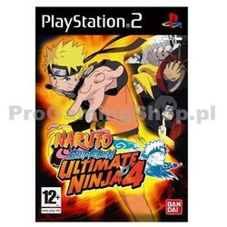 Naruto Shippuden Ultimate Ninja 4 (PS2)