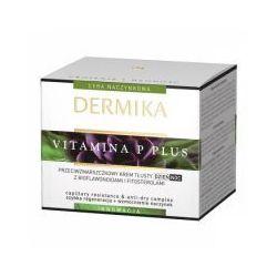 Dermika Vitamina P, przeciwzmarszczkowy krem do twarzy, tłusty, na dzień i na noc, 50ml
