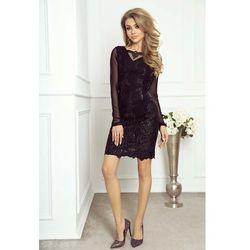 1fba4b54f7 suknie sukienki czarna sukienka na wesele studniowke z koronka ...