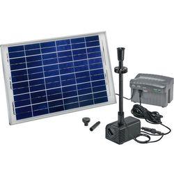 Fontanna ogrodowa solarna Siena LED Esotec 101780, maks. 1500 l/h, maks. 2,8 m
