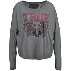 True Religion Bluzka z długim rękawem black