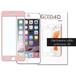 etuo.pl - szkło - Apple iPhone 6s - szkło hartowane 3D - różowy