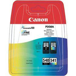 Tusz Canon PG-540 / CL-541 Multipack Czarny i Kolor do drukarek (Oryginalny)