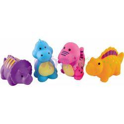 Zestaw zabawek do kąpieli Dinozaury 4 szt. Canpol