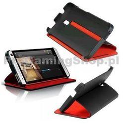 Case HTC HC V851-etui z klapką do HTC One Mini blackred